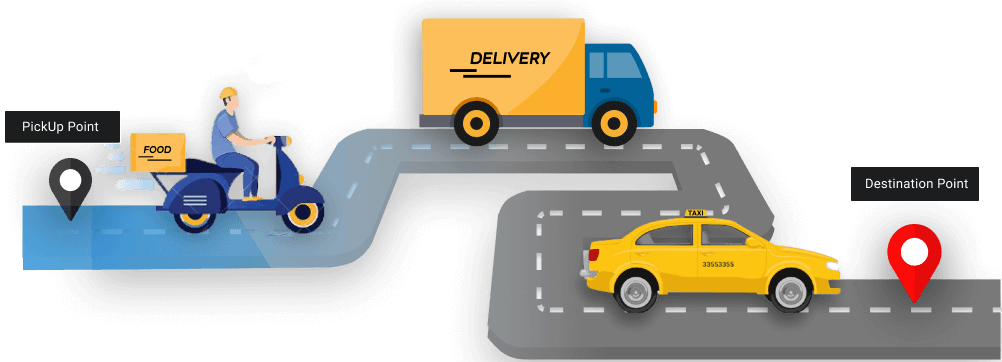 food taxi delivery app development